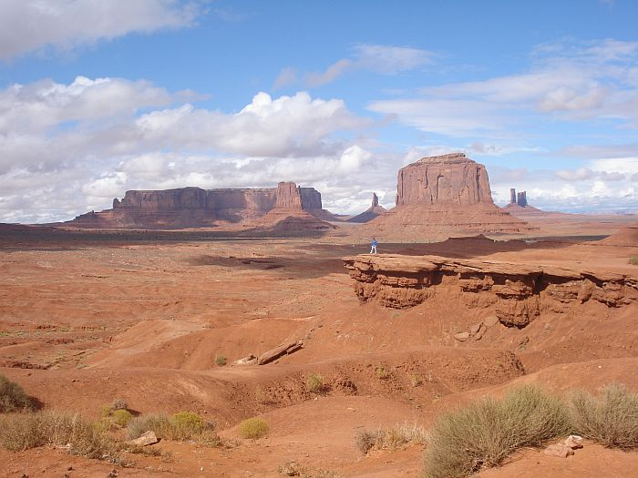 fotos monument valley nationaal park amerika