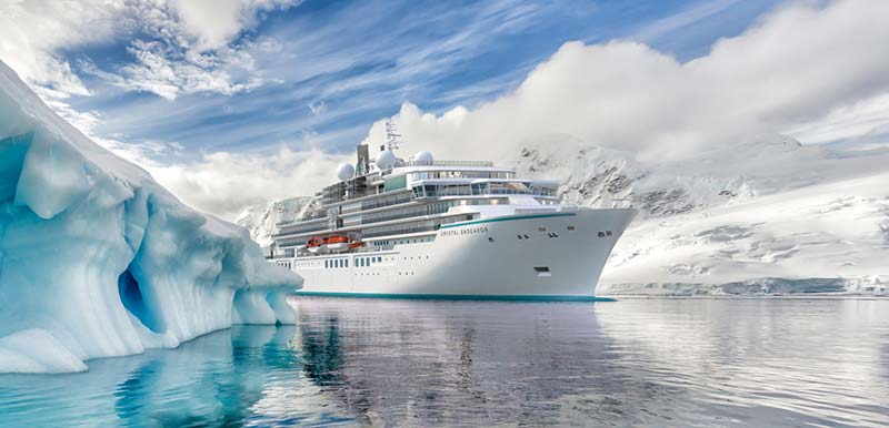 crystal endeavour fotos expeditie cruiseschip