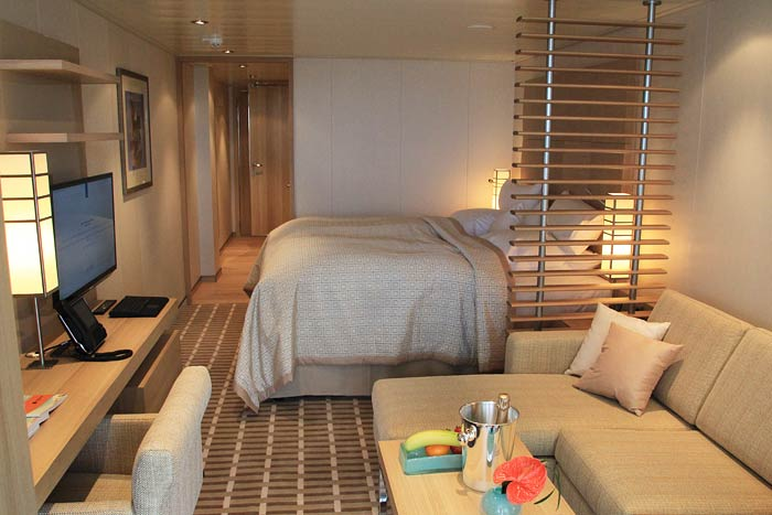 Europa 2 Hapag-Lloyd Cruises Veranda Suite