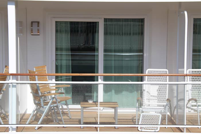 Veranda Suite op de Europa 2 van Hapag-Lloyd Cruises