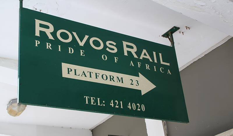 Rovos Rail luxe treinreis door Zuid-Afrika
