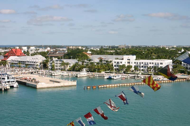 Crystal Serenity Crystal Cruises bezoek aan Key West Florida