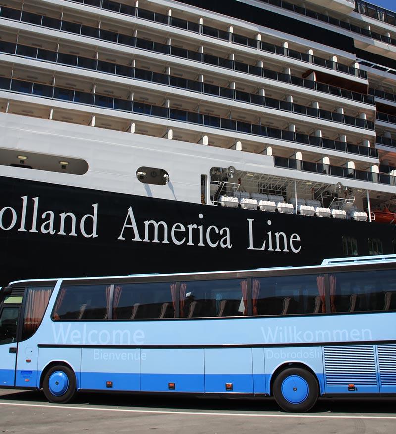 Op excursie met Holland America Line