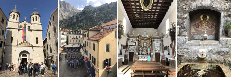 fotos en tips voor cruisepassagiers in kotor, montenegro