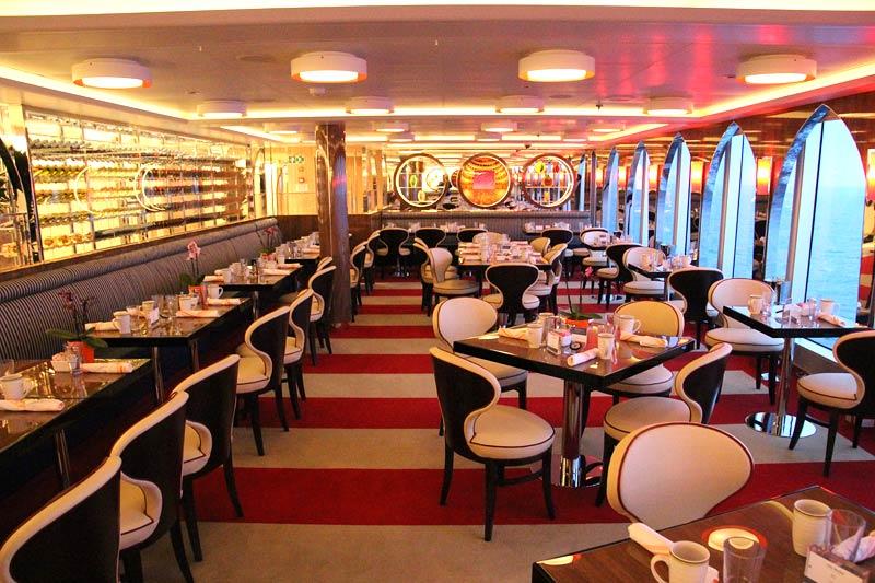 Holland America Line Nieuw Statendam Canaletto italiaans restaurant