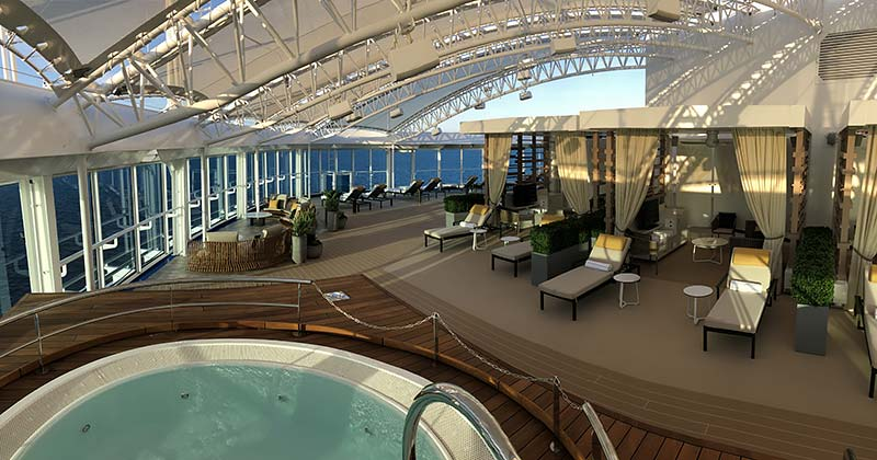 reisverslag cruiseschip sky princess van princess cruises
