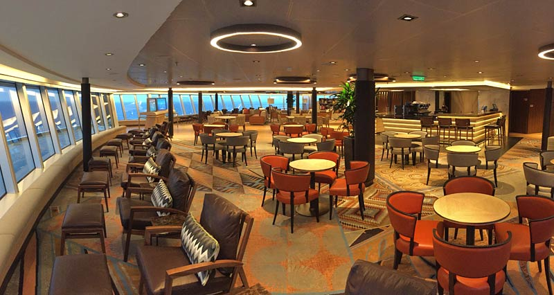Holland America Line Nieuw Statendam Explorations Central Crows Nest