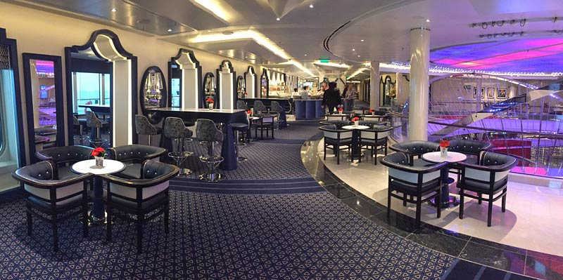 Holland America Line Nieuw Statendam Grand Dutch Cafe