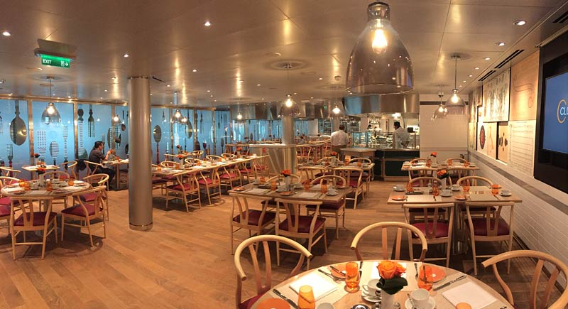 Holland America Line Nieuw Statendam Club Orange restaurant