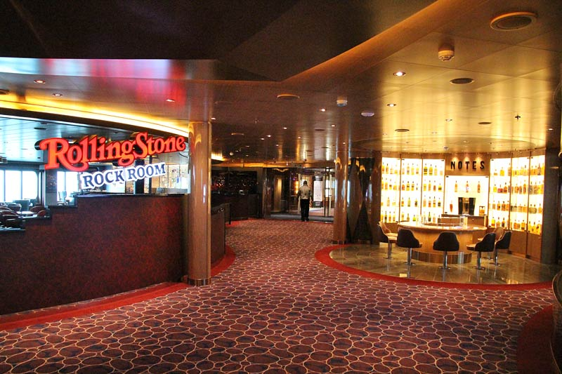Holland America Line Nieuw Statendam Rolling Stone Rock Room