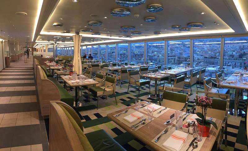 Holland America Line Nieuw Statendam Lido Market buffetrestaurant