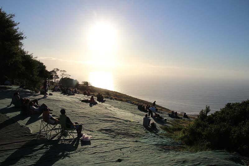 Camps Bay Signal Hill Kaapstad Zuid Afrika