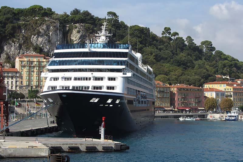 Azamara Club Cruises - cruiseschip in Nice