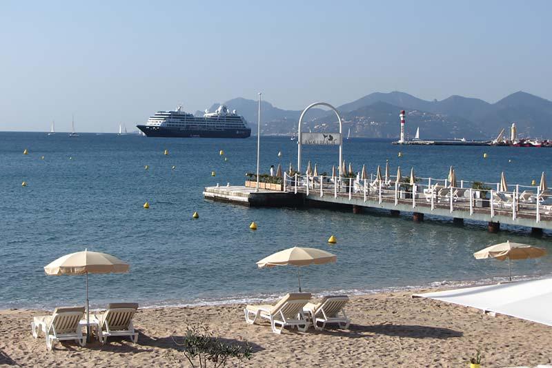 Azamara Club Cruises - cruiseschip in Cannes
