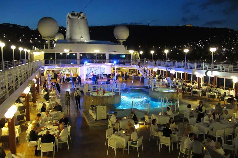 Azamara Club Cruises - White Night Villefranche