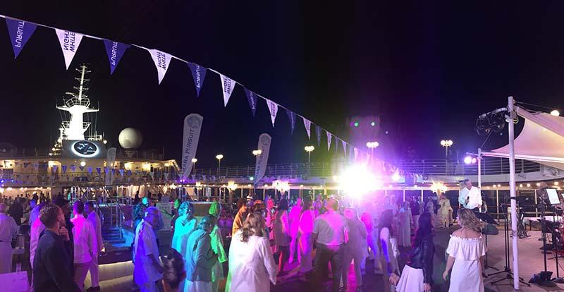 Azamara Club Cruises - White Night