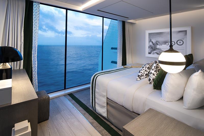Celebrity Edge Villa slaapkamer - Celebrity Cruises
