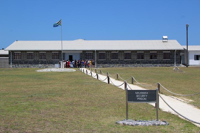 Robbeneiland bij Kaapstad, Zuid-Afrika