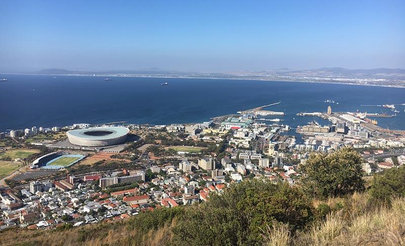 Kaapstad vanaf Signal Hill