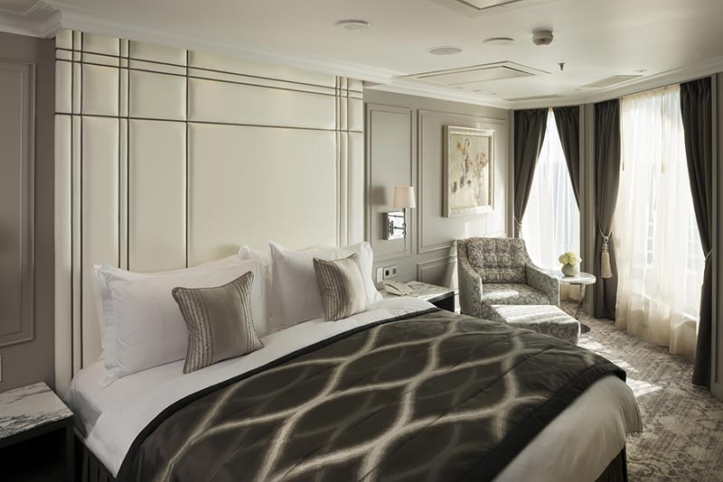 Crystal Serenity Crystal Penthouse slaapkamer - Crystal Cruises
