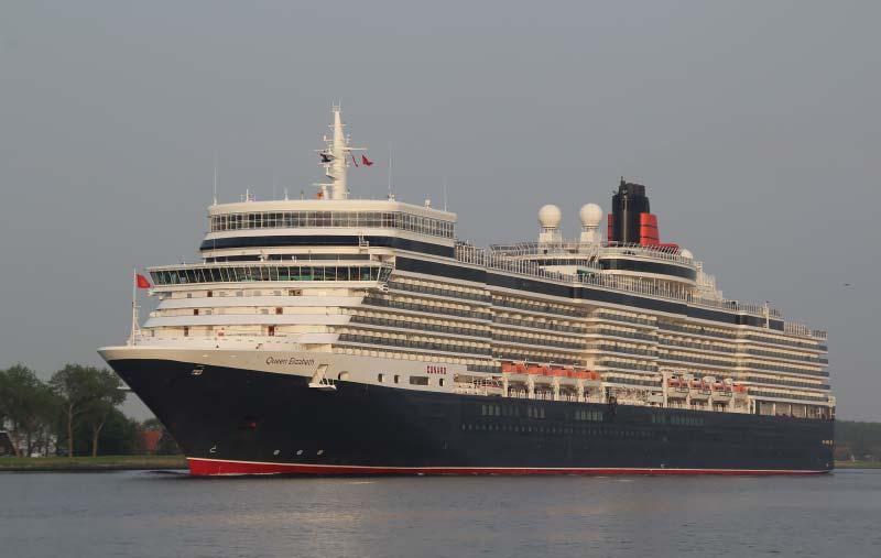 cruiseschip Queen Elizabeth van Cunard