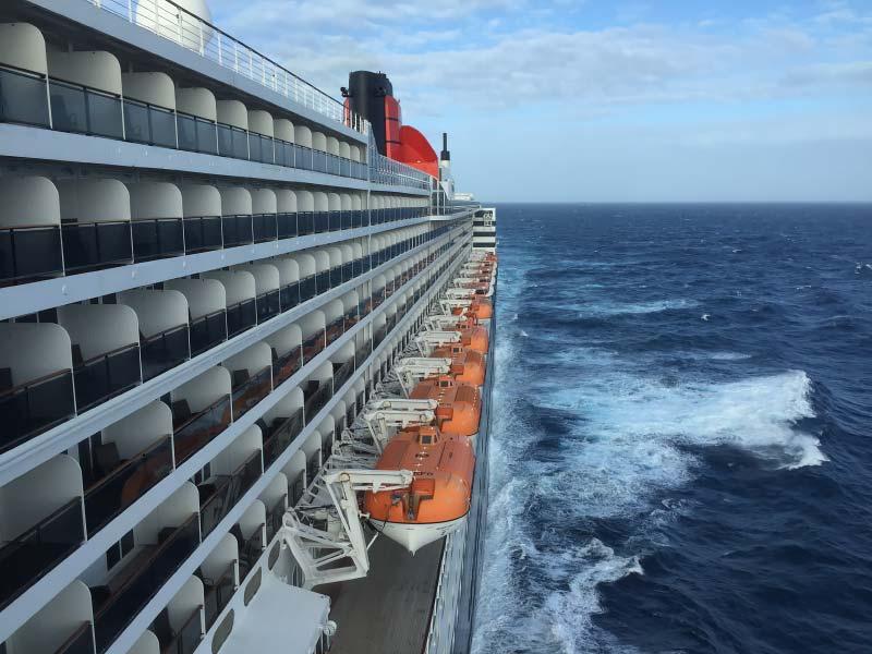 cruiseschip Queen Mary 2 van Cunard