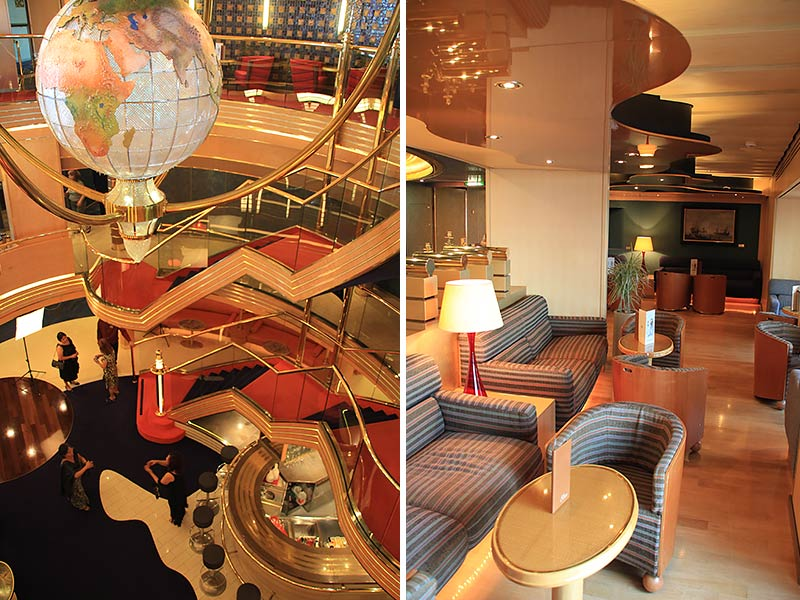 Interieurfotos Oosterdam Holland America Line