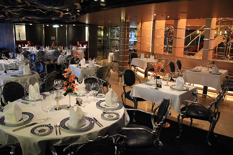 Pinnacle Grill op de Oosterdam Holland America Line
