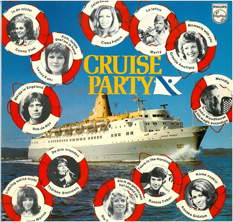fred olsen cruise party lp muziek