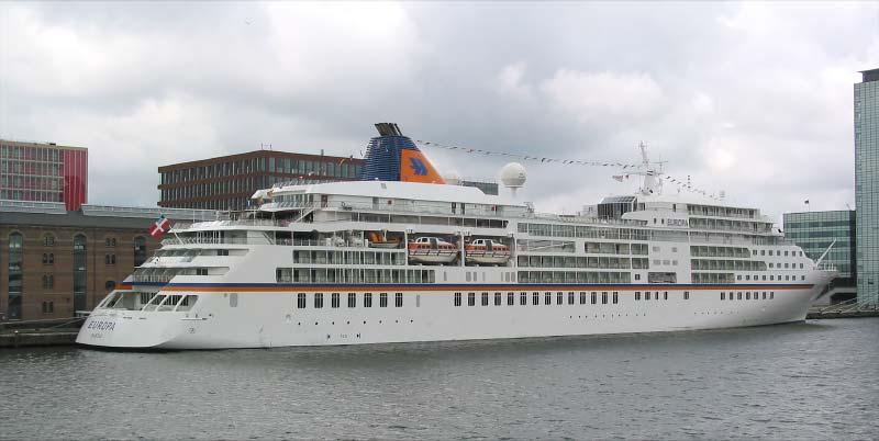 Europa van Hapag-Lloyd Cruises in Amsterdam