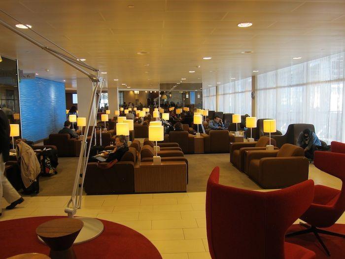 KLM Crown Lounge op Schiphol