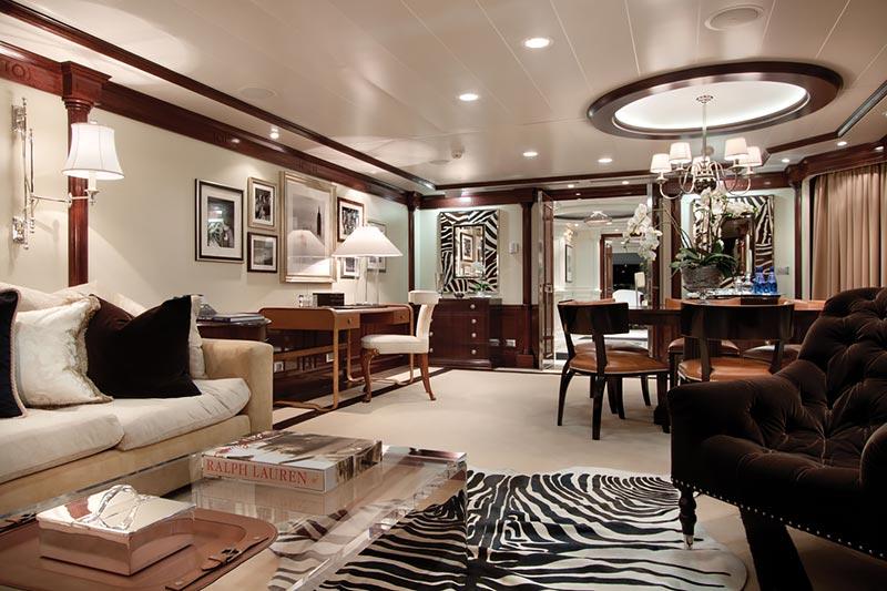 Marina Owner's Suite woonkamer - Oceania Cruises