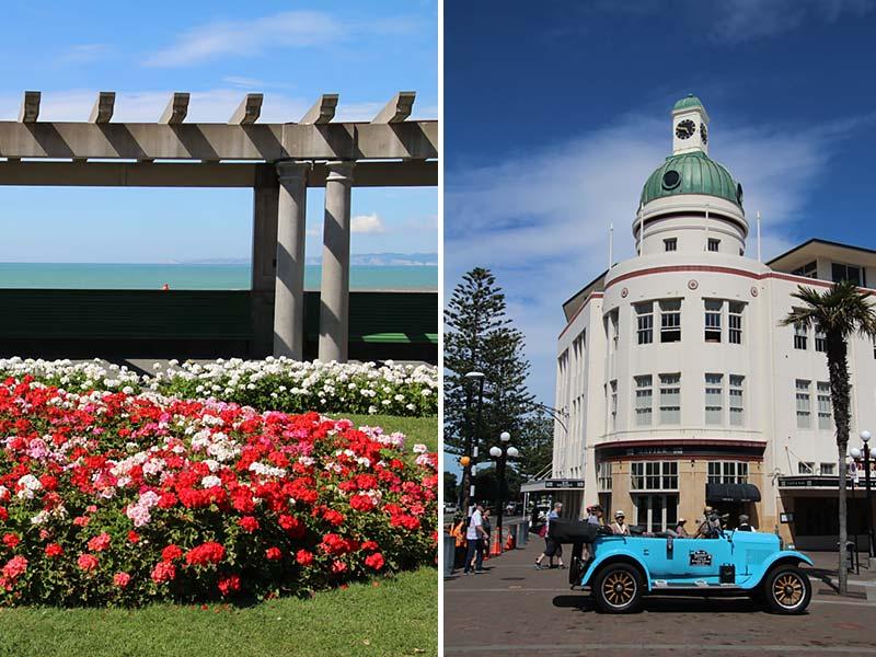Art deco invloeden in Napier, Nieuw-Zeeland