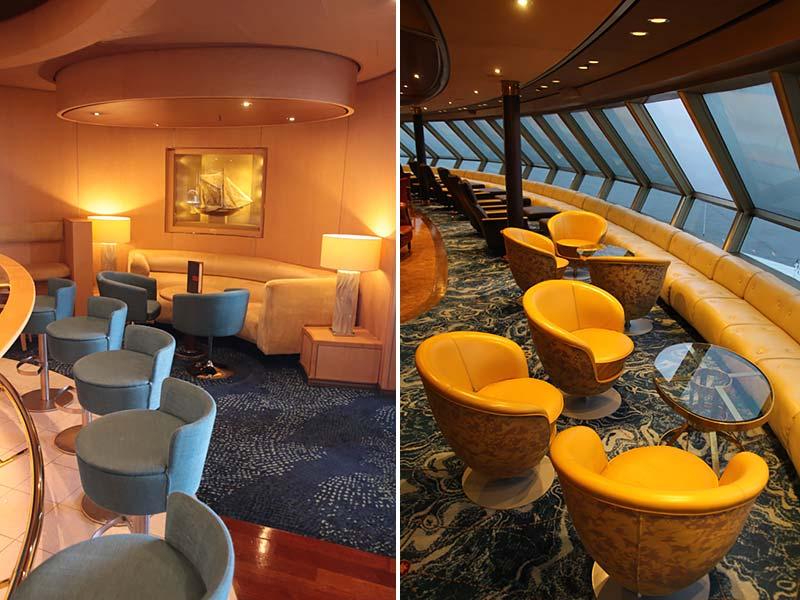 Interieurfoto's cruiseschip Noordam Holland America Line