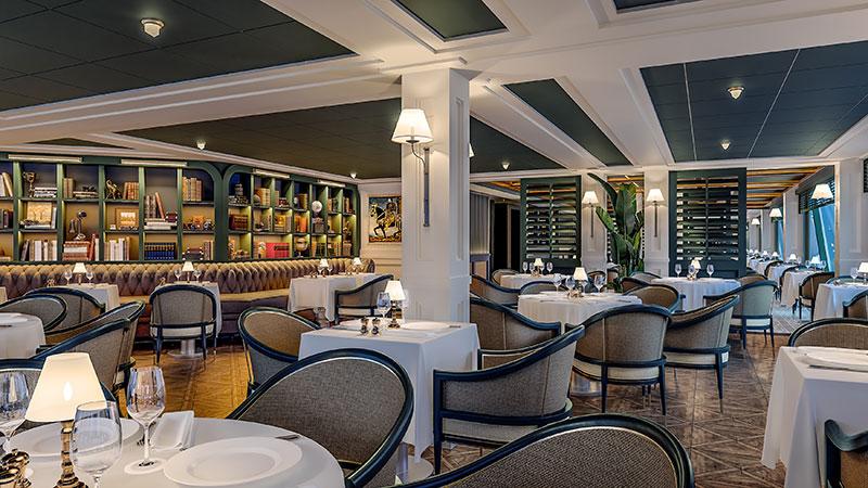 polo grill steakhouse op cruiseschip vista van oceania cruises