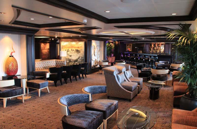 Martini Bar op het cruiseschip Riviera van Oceania Cruises