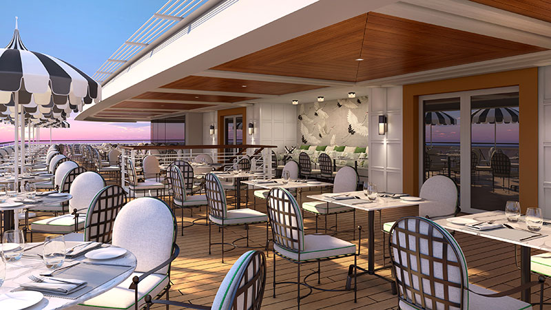 terrace cafe buffetrestaurant op cruiseschip vista van oceania cruises