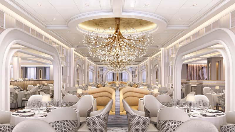 grand dining room op cruiseschip vista van oceania cruises