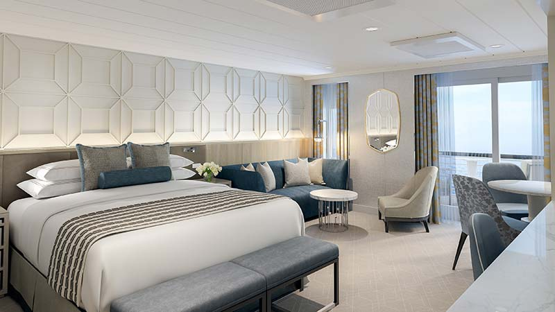 concierge level lounge op cruiseschip vista van oceania cruises