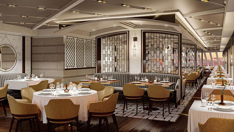 toscana italiaans restaurant op cruiseschip vista van oceania cruises