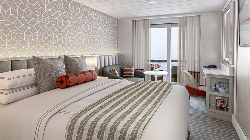 veranda stateroom balkonhut op cruiseschip vista van oceania cruises