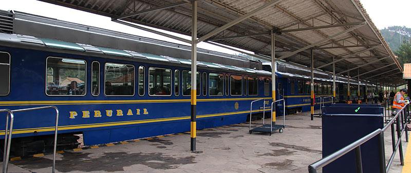 peru rail vistadome trein naar machu picchu