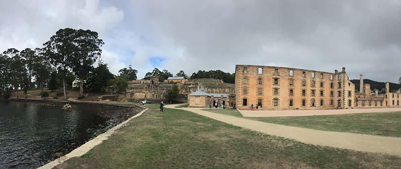 Historisch gevangeniscomplex in Port Arthur, Tasmanie, Australie