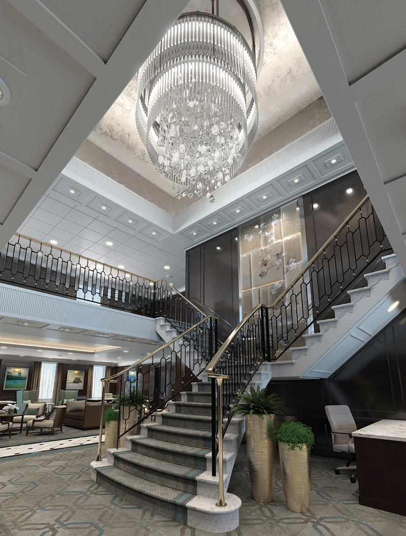 Oceania Cruises Regatta Insignia Nautica Grand Hall
