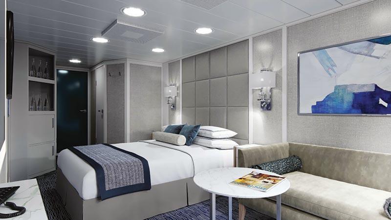 Oceania Cruises Regatta Insignia Nautica balkonhut