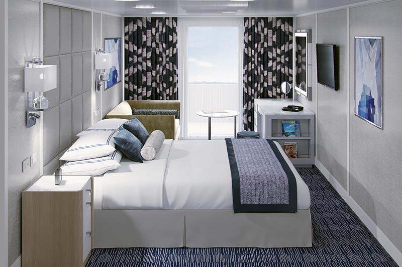 Oceania Cruises Regatta Insignia Nautica concierge balkonhut