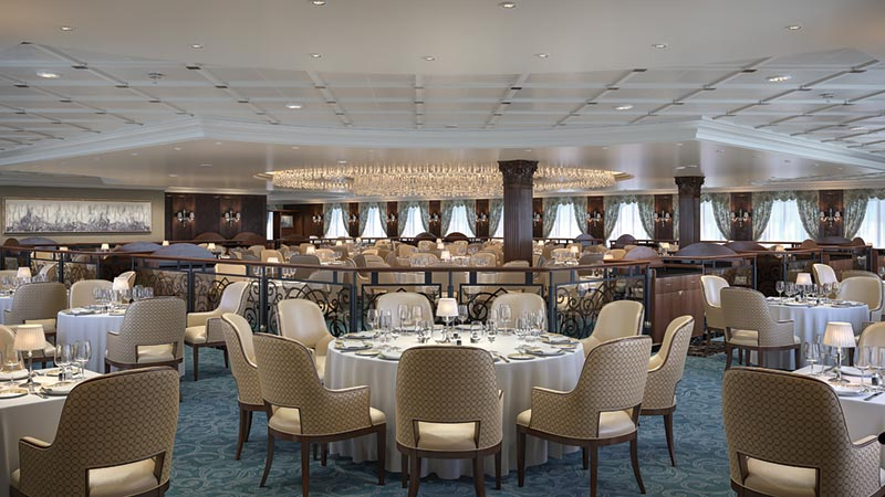 Oceania Cruises Regatta Insignia Nautica Grand Dining Room