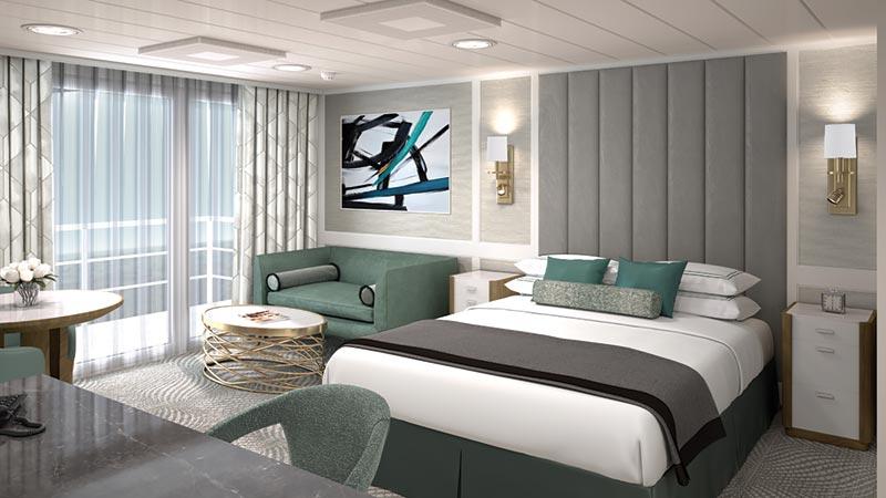 Oceania Cruises Regatta Insignia Nautica penthouse suite