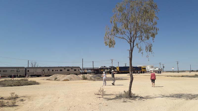 verslag met foto's van reis door australië met de indian pacific trein van perth naar sydney