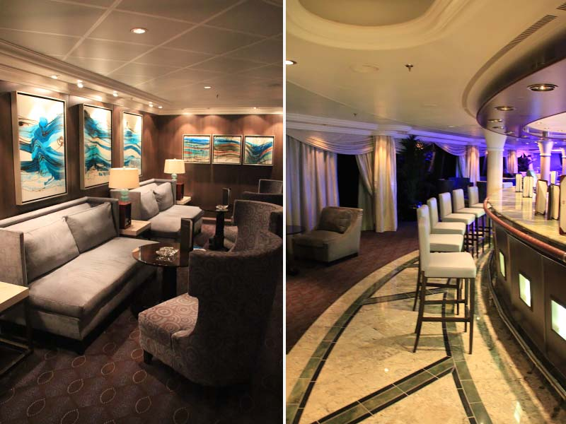 Interieurfotos van cruiseschip Riviera van Oceania Cruises